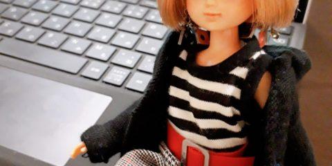 着なくなった服をリカちゃん人形のお洋服にリメイク